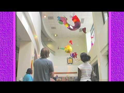 Children's Mercy Hospital Wings of Love Sculptures.