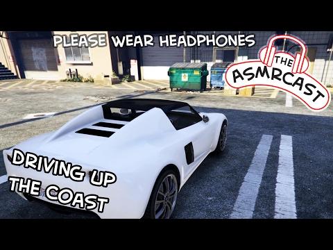 ASMR GTA V: Driving Up The Coast In A Tesla (Intense Binaural Tingles & Triggers)