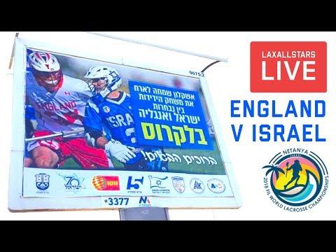 Israel vs England | International Lacrosse Game