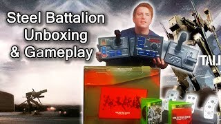 Steel Battalion Original Xbox Unboxing and Game Play (Rare Game) 4K