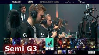 G2 eSports vs Origen - Game 3 | Semi Finals S9 LEC Spring 2019 | G2 vs OG G3