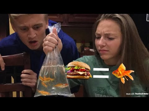 Eating A Live Goldfish