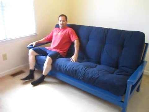 futon mattress unboxing  u0026 review 9   full premium blazing needles wayfair dhp 6 8 10 wolf serta   youtube futon mattress unboxing  u0026 review 9   full premium blazing needles      rh   youtube