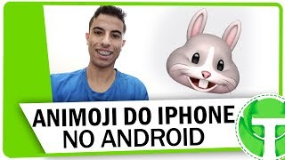 Tenha os ANIMOJIS do IPHONE X no seu ANDROID