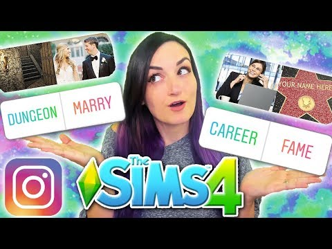 My Instagram Followers Control My Sim | Sims 4 Challenge (Cheating Boyfriend, New Love, Fame)