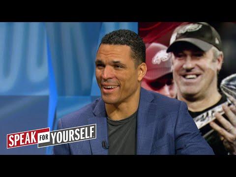 Tony Gonzalez talks Super Bowl LII between the Eagles and Patriots   SPEAK FOR YOURSELF