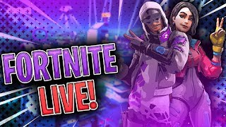 Fortnite Live - Squads With Subs - Getting Them Challenges Done