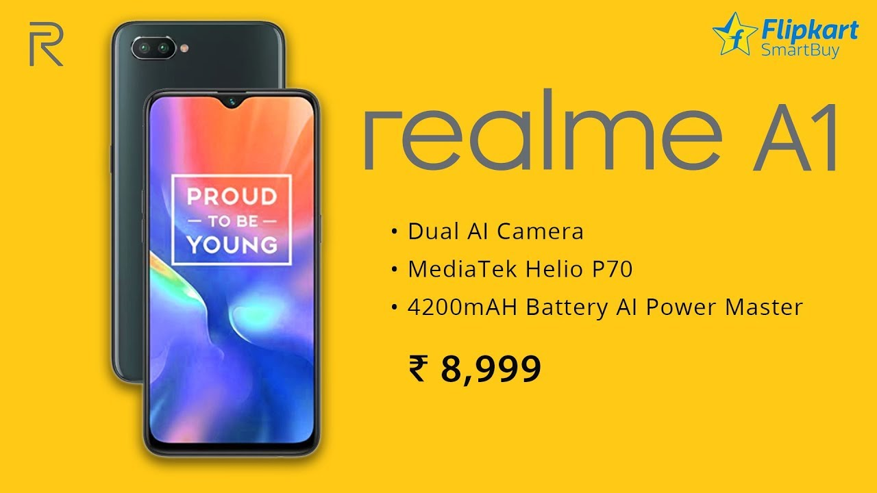 RealMe A1 First Look | RealMe A1 Price, Specifications, Release Date in  INDIA
