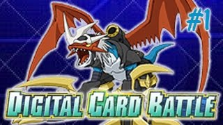 Digimon Digital Card Battle Walkthrough Part 1 - Betamon