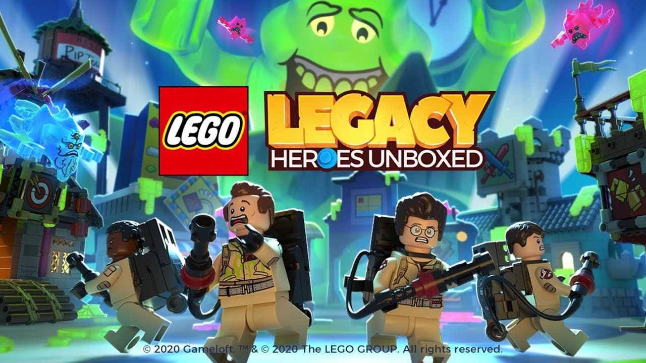 Gameplay Ghostbusters Update For Lego Legacy Heroes Unboxed Ghostbusters Lego Hero