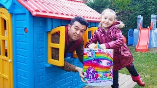 Öykü Playing Poopsie Slime Unicorn FULL BOX Opening!!! - Funny Oyuncak Avı