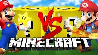 Minecraft: MARIO LUCKY BLOCK CHALLENGE | Mario vs Mario!