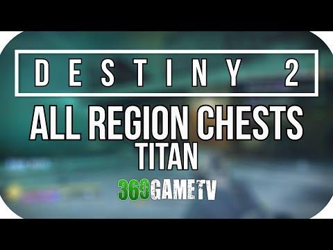 Destiny 2 All Titan (Sirens Watch / The Rig) Region Chest Locations - Titan Region Chests Guide