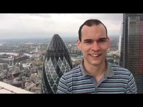 Climbed Heron tower (London) 755ft