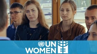 Moldovan men challenge gender stereotypes
