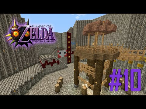 Majoras Mask Legend of Zelda Minecraft Adventure Map - Ep 10 w/Download