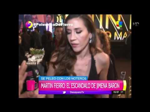 Tensa charla de Jimena Barón con la prensa: Mirame a mí a los ojos