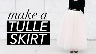 كيفية جعل تنورة تول | WITHWENDY