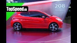 Peugeot GTi Concept 2012 Videos