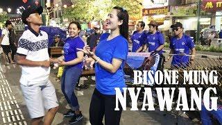 MANTAB BETUL JOGETNYA BROOO !!! BISONE MUNG NYAWANG | ANGKLUNG RAJAWALI MALIOBORO YOGYA