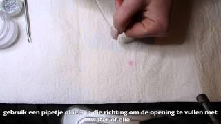 Aquarium nail art tip tutorial (how to)(dutch)