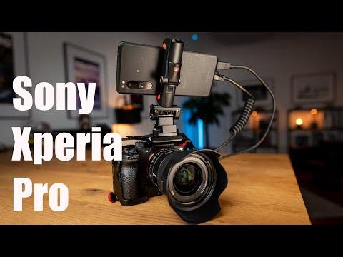 Sony Xperia Pro – Smartphone für Profis?
