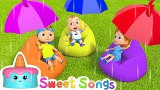 Rain Rain Go Away | Nursery rhymes & Song for kids