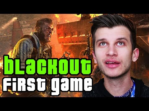 Black Ops 4 BLACKOUT Gameplay: WILL I SUCK OR WIN?