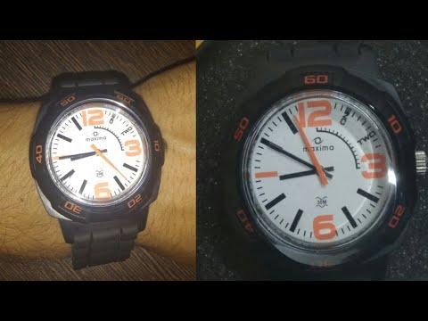 681347f6b Maxima Aqua Sport Analog White Dial Men s Watch - 27663PPGW Unboxing ...