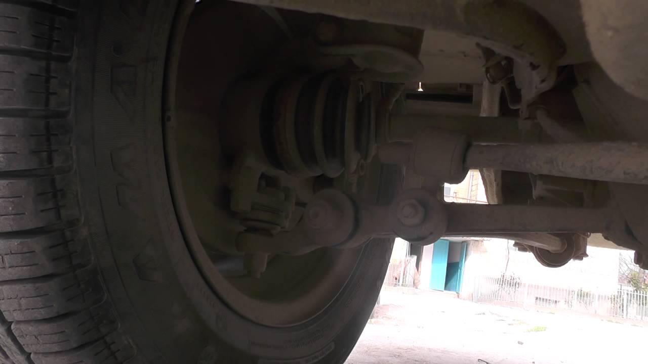 заваливается внутрь переднее колесо опель омега а