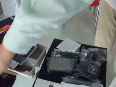 HTC Touch 3G Unboxing (Thailand Set)