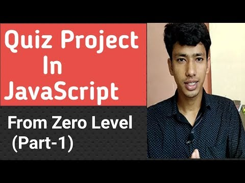 Quiz Project In JavaScript In Hindi | Online Exam Project (Part-1)