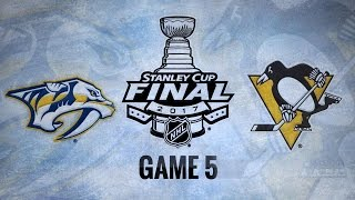 Pens roll past Preds, 6-0, take 3-2 series lead