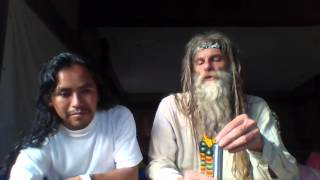 Bilvi Ahau Hun Abuel@s sabios del planeta con Alfredo Bañuelos