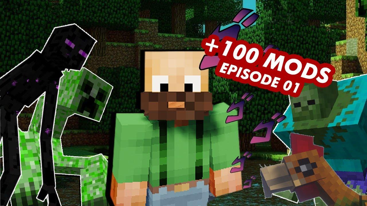 +100 Mods in Minecraft - Ep.01: En nieuw avontuur | ZaCraft