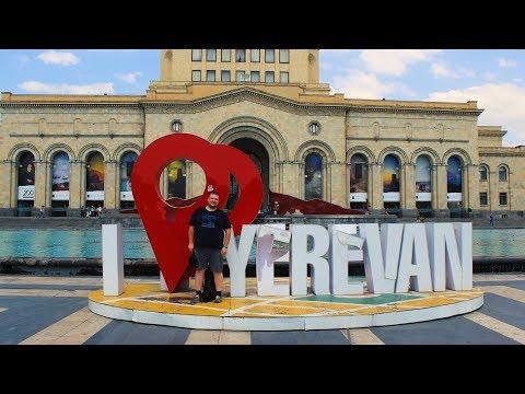 Реальный Ереван, серия 1 из 4: центр города, Хор Вирап, музей современного искусства, да много чего!