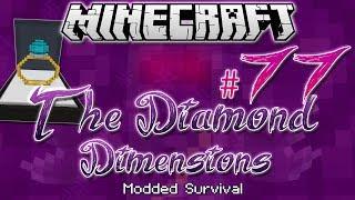 """MY WEDDING DAY!"" | Diamond Dimensions Modded Survival #77 | Minecraft"
