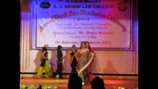 Arabic/Western Fashion Show At Advani College Annual Day 2013