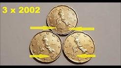 Triplets 20 Cent ---Rare-- ---Drillinge---
