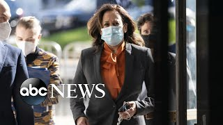 ABC News Live Update: Sen. Harris halts travel, 2 people test positive for COVID-19