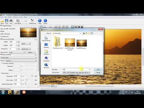 PhotoZoom Pro 7