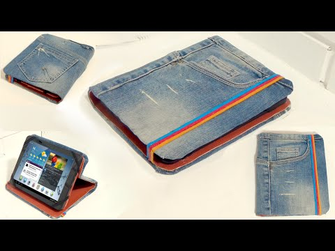 Recycle Your Old Jeans How To Make A Tablet Case With Old Jeans