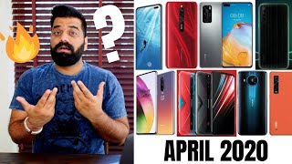Top Upcoming Smartphones - April 2020
