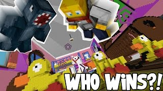 Minecraft - The Dropper 2 - Who Wins?! [6]