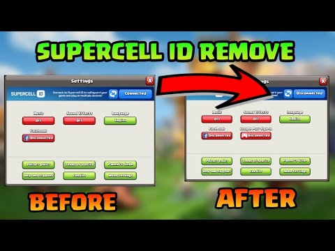How To Remove Supercell Id Login 💯 Proof ||Season 12 Primal Archer Queen Skin|Clash Of Clans India