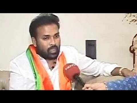 Bellary's Sriramulu: Back contesting for the BJP
