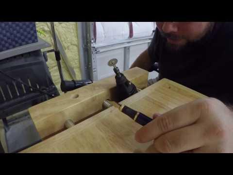 How to grind a cursive italic nib on a fountain pen- pentuner.com