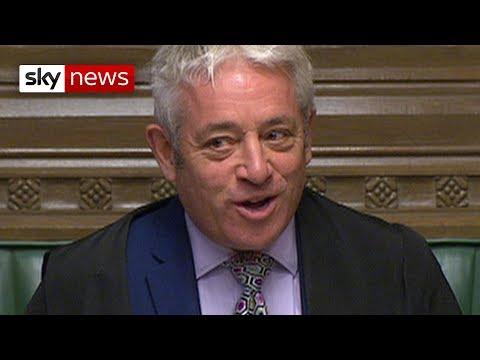 Vote on PM's deal denied by Speaker