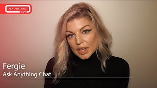 Fergie Talks About Singing With BEP Again, A Collab With Selena Gomez.  Watch Full Chat