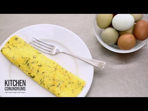 The 2-Minute French Omelet - Kitchen Conundrums with Thomas Joseph